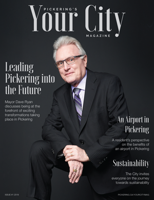 front cover - Your City Magazine