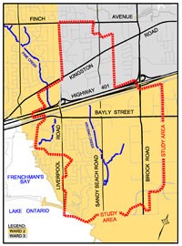 Krosno Creek Flood Reduction Study - City of Pickering