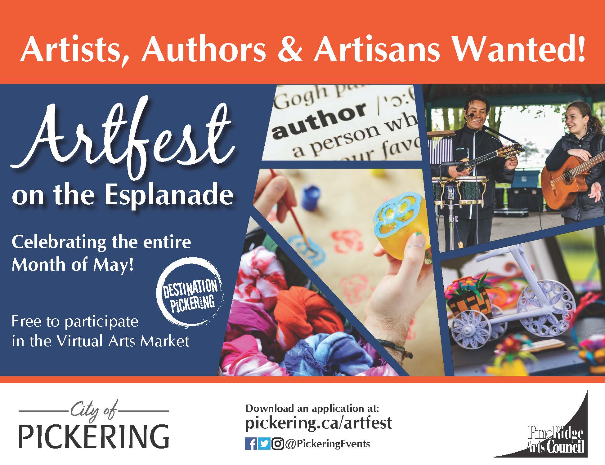 artfest call for artists, authors, artisans and performers