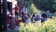 a performance at the Pickering Museum Village