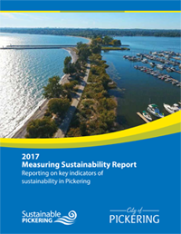 2017 Measuring Sustainability Report Cover