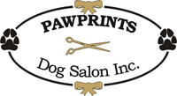 Pawprints Dog Salon logo