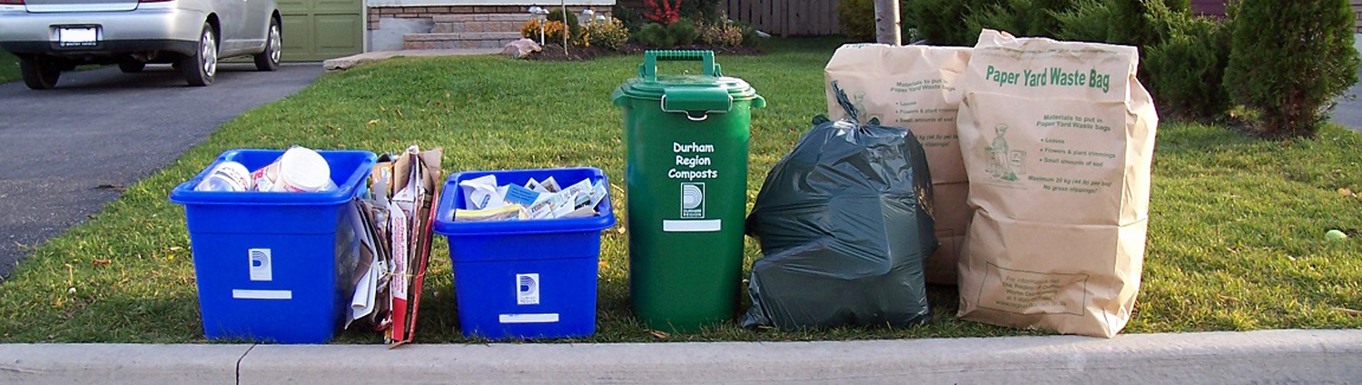 Garbage Recycling Green Bin City Of Pickering